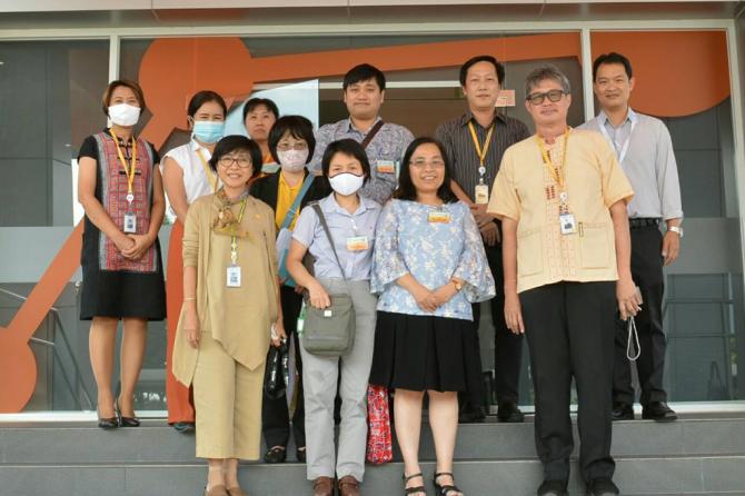 ศูนย์วิเคราะห์ฯ เข้าประชุมหารือความร่วมมือด้านการทดสอบ พร้อมเข้าเยี่ยมชมศูนย์ปฏิบัติการทดสอบเคมี, ศูนย์มาตรวิทยาและสอบเทียบเครื่องมือวัด ณ การไฟฟ้าฝ่ายผลิตแห่งประเทศไทย (กฟผ.)