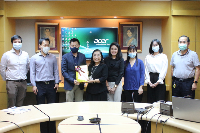 """Textile Testing Centre (TTC) gave the """"Basic Knowledge of Textile Products and Textile Testing"""" a lecture on, for Thai Textile Merchants Association (TMA) members"""