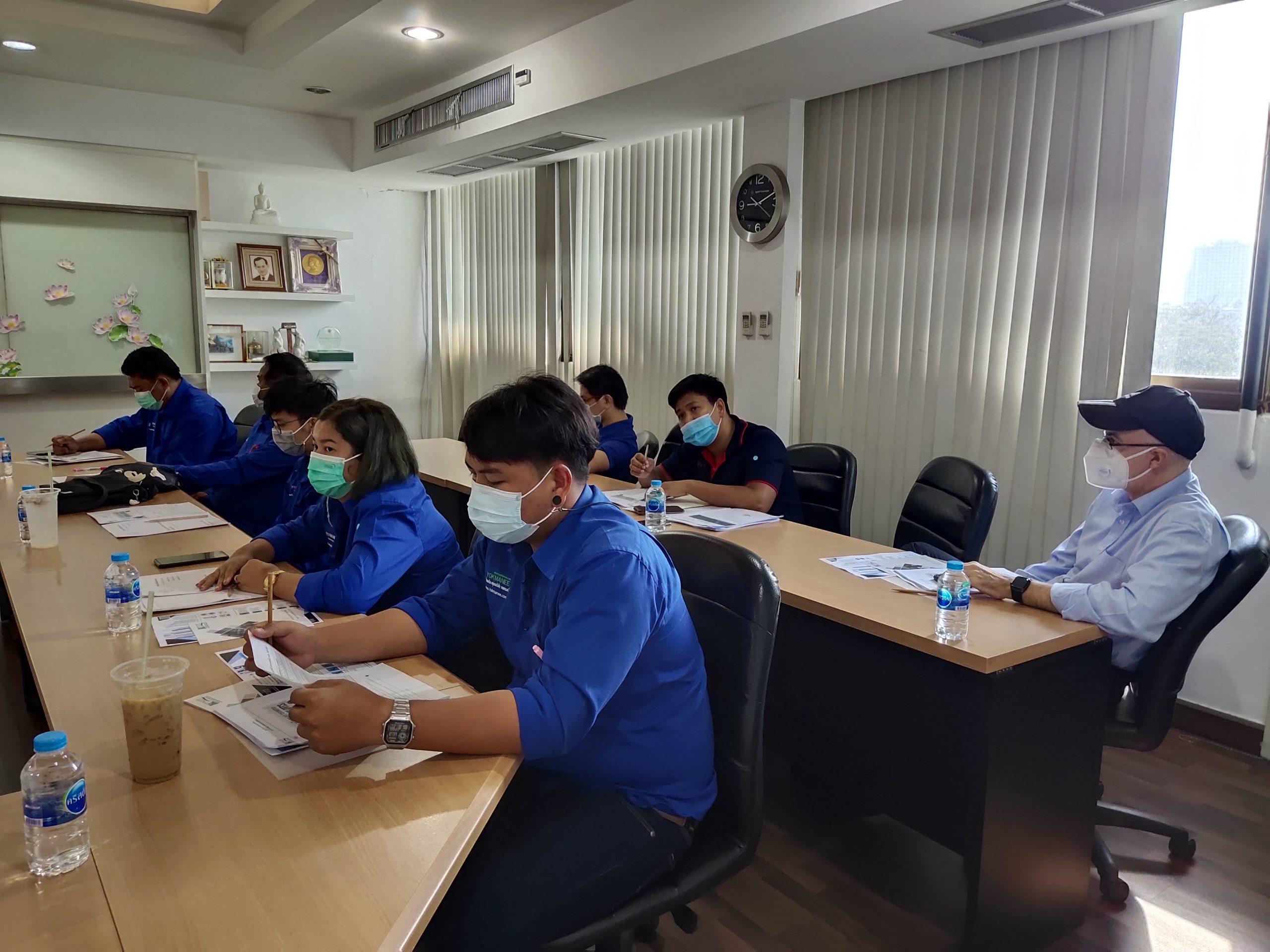 """ศูนย์วิเคราะห์ทดสอบสิ่งทอ จัดอบรมและกิจกรรม Workshop ในหัวข้อ """"การทดสอบถุงมือ (Gloves Testing)"""" แก่บริษัท DREAM LIFE PROPERTY DEVELOPER LIMITED. และ BESTSAFE GLOVE CO.,LTD"""