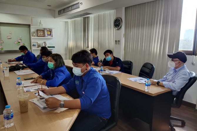 """Training course: """"Gloves Testing Training.""""  – DREAM LIFE PROPERTY DEVELOPER LIMITED. And BESTSAFE GLOVE CO., LTD"""