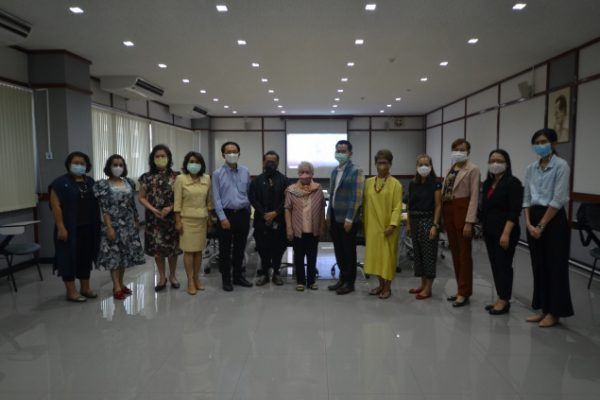 Thailand Textile Institute Welcomes the Staff from Thai Handicraft Promotion Trade Association